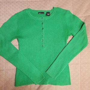 Mora International Green Sweater
